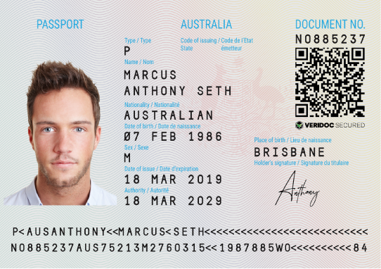 Image result for australia passport